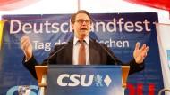 Am Tag der Deutschen Einheit begingen die Parteien CDU und CSU ein Deutschlandfest. Nun steht das Gespräch der beiden Parteiführungen bevor.