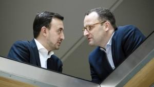 Die Reihen der CDU schließen sich