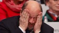 Ohne Siegerlächeln: Martin Schulz