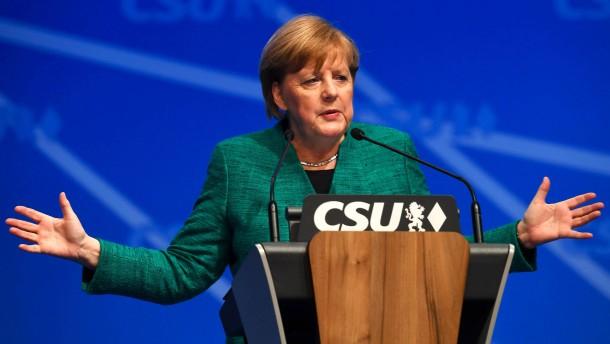 Merkels Kratzfuß