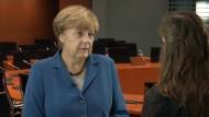 Merkel will geflüchteten Frauen Mut machen