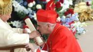 Vor acht Jahren: Papst Johannes Paul II. verleiht O'Brien die Kardinalswürde