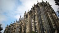 Der Aachener Dom im September 2015