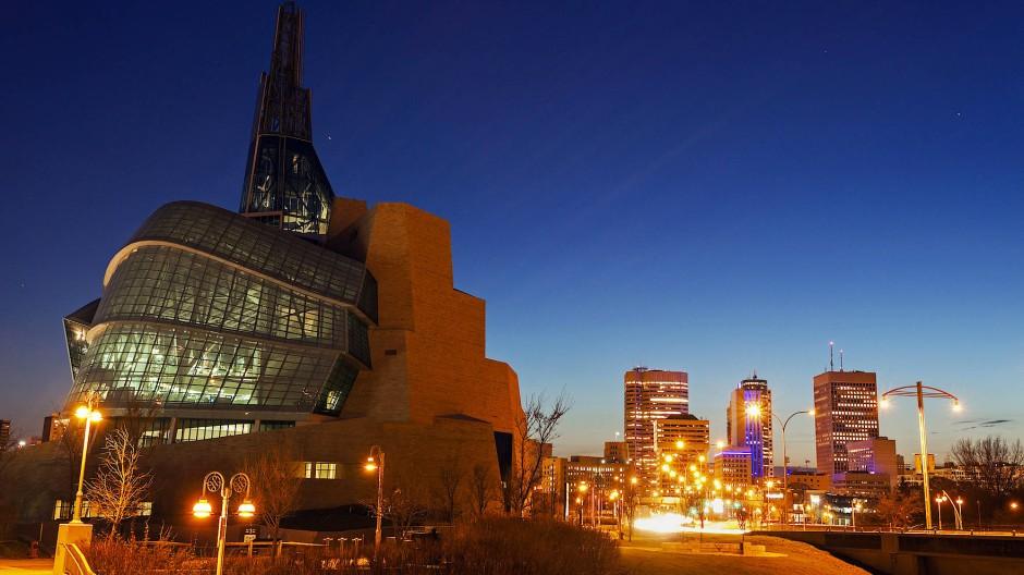 Im kanadischen Winnipeg gibt es ein Menschenrechtsmuseum.