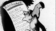 Karikatur von Erich Lipiñski vom 24. April 1945