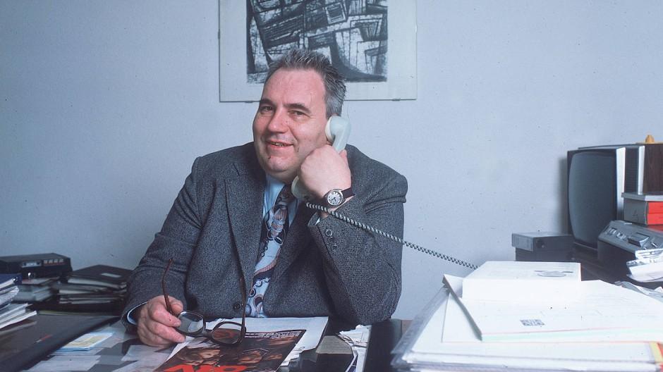 Heinz Kluncker am 15. Januar 1977