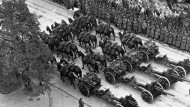 Die Truppenparade der Wehrmacht am 5. Oktober 1939 in Polen