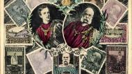 Konterfei von Franz Joseph, der von 1848 an herrschte und am 21. November 1916 verstarb