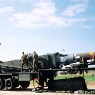 Feindbild für viele: Amerikanische Mittelstreckenrakete vom Typ Pershing II.
