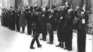 Undatierte Aufnahme aus dem Warschauer Ghetto