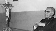 Óscar Arnulfo Romero im August 1977