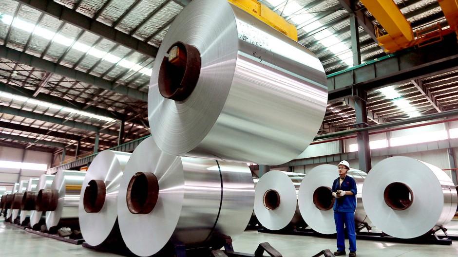 Streitobjekt Aluminium: Die EU hat die WTO eingeschaltet.