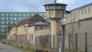 Das frühere Gefängnis der Staatssicherheit der DDR in Berlin-Hohenschönhausen am 11.03.2012