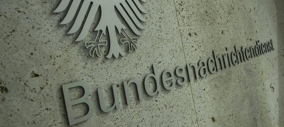 Die Zentrale des Bundesnachrichtendienstes in Berlin