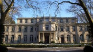Das Haus der Wannsee-Konferenz in Berlin am 17. Januar 2005