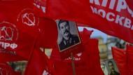 Zum 135. Geburtstag Stalins: Auf dem Roten Platz in Moskau