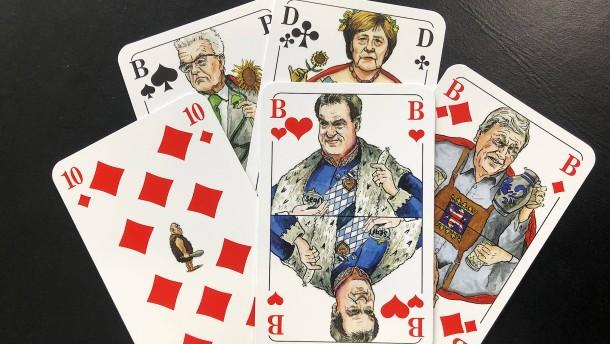Pokerspiel in der K-Frage