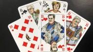 Wer mit Söder pokert, braucht gute Nerven. Das hier abgebildete Kartenspiel wurde von Greser&Lenz exklusiv für die F.A.Z. gestaltet.
