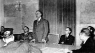 Alfred Rosenberg am 18. November 1941 in Berlin