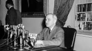 Harry S. Truman am 25. April 1945