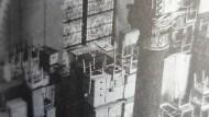 Als Möbellager umfunktionierte Synagoge