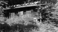 """Das """"Kampf-Häusl"""" auf dem Obersalzberg bei Berchtesgaden wurde 1951 abgerissen."""