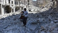 Aleppo am 21. April 2014