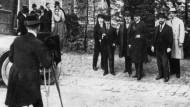 Die deutsche Delegation in Versailles im Mai 1919