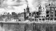 Zerstörtes Königsberg nach dem Luftangriff im August 1944
