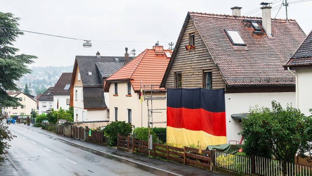 Ruhig mehr Bundesflaggen