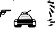 Piktogramm der Kriegsgeräte
