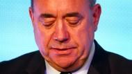 Alex Salmond kündigt Rücktritt an