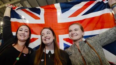 Jubel in Edinburgh an einem historischen Tag:  Die Union, die Engländer und Schotten vor 307 Jahren eingegangen sind, besteht fort.