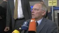 Schäuble sieht keine substanziellen Vorschläge