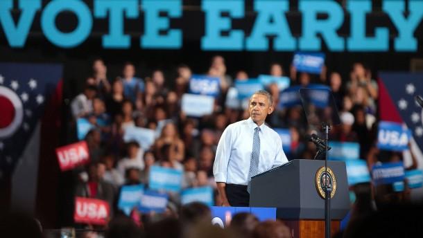 Obama fürchtet um sein Vermächtnis