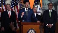 Kann die Spaltung nicht überwinden: Die Führung der Republikaner im Repräsentantenhaus