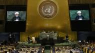 Freund im Feindesland: Irans Präsident Rohani vor der UN-Vollversammlung