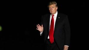 Trump will die Hardliner bremsen