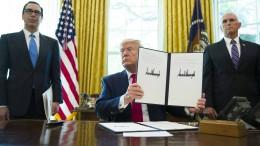 Trumps gefährliches Hin und Her
