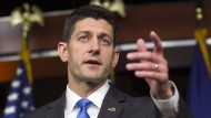 """Der """"Sprecher"""" des Repräsentantenhauses Paul Ryan soll den Republikanern den Weg weisen."""