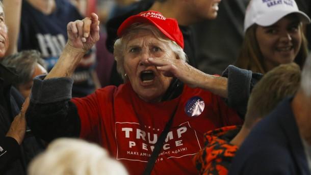 Wer sind Trumps treue Anhänger?