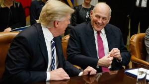 Kann Kelly das Chaos im Weißen Haus beseitigen?