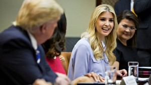 Trumps nettes Gesicht