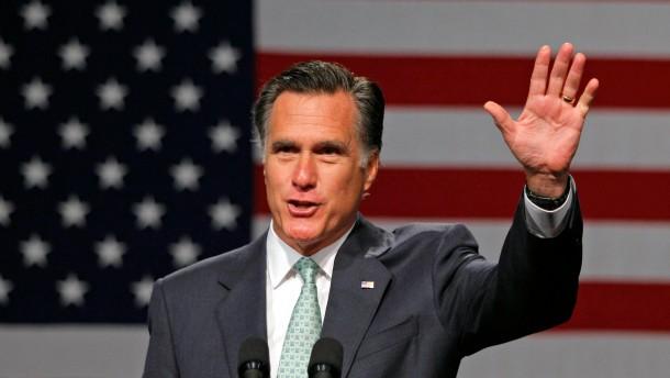 Romney gewinnt drei weitere Staaten