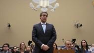 Michael Cohen am Mittwoch im Kongress