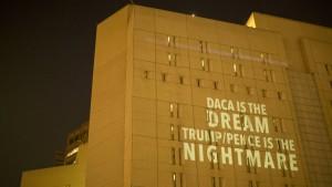 """Proteste gegen Stopp von """"Dreamer""""-Programm"""