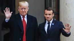 Macron sichert Trump höhere Verteidigungsausgaben zu