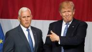 Der ist es: Donald Trump nominiert Mike Pence