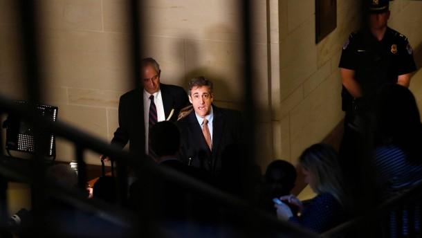 Cohen verklagt Trump-Organisation auf Millionenbetrag