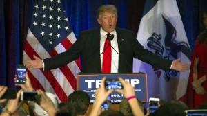 Trump zwischen zwei Siegern